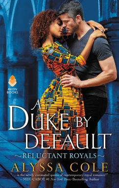 Book Cover - A Duke By Default by Alyssa Cole.JPG