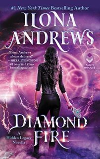 Book Cover - Diamond Fire by Ilona Andrews