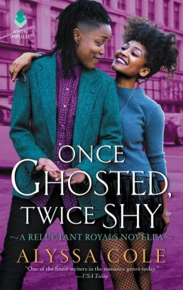 Book Cover - One Ghosted Twice Shy by Alyssa Cole.jpg