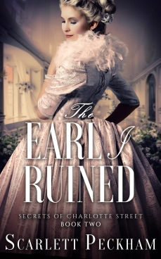 Book Cover - The Earl I Ruined by Scarlett Peckham.jpg